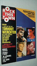 ROCK THIS TOWN 48 (6/87) PETER GABRIEL PRINCE DAVID BOWIE JO LEMAIRE THE CURE(3)