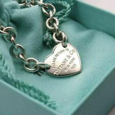 Tiffany & Co bracciale heart tag Argento 925 Sterling nuovo originale e completo