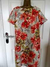 """FABULOUS TUNIC  DRESS BY M&S COLLECTION UK-16 BUST 42"""" HIPS 46""""LENGTH 39"""""""