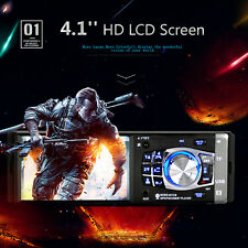 "4.1"" HD Touch Bluetooth Radio De Coche Estéreo 1DIN Audio MP5 PLAYER DC 12v"
