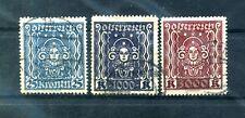 Austria 1922-1924 Symbols Used