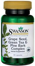 Grape Seed, Green Tea & Pine Bark Complex x 60 Capsules - 24HR Dispacth