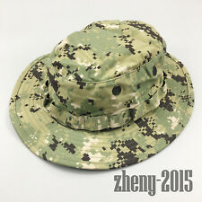 NWT NWU Type III Navy Seal AOR2 Digital Woodland Boonie Hat SUN COVER SIZE SMALL
