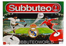 REAL MADRID OFFICIAL LICENSED SUBBUTEO BOX SET. TABLE SOCCER. TABLE FOOTBALL
