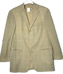 Herren HUGO BOSS Jacke Blazer Mars mit Schurwolle Gr. 48 Jacket Anzug-Sakko J18