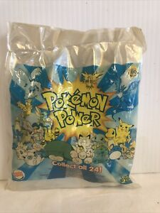 Burger King Happy Meal Toy Pokemon Power 2000 Surprise Figure NEW