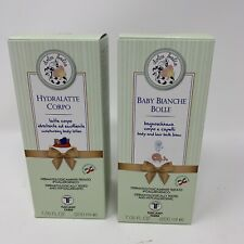 Baby Bianche Bolle Bath Foam & Hydralatte Body Lotion - Made In Italy