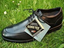 Clarks GORETEX WATERPROOF Cushion-Plus Extra-light Black Shoe MEN UK-10.5  45  G