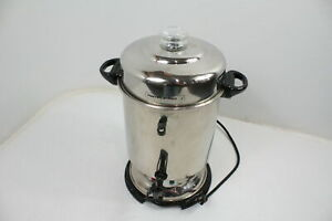 Hamilton Beach D50065 Commercial Stainless Steel Coffee Urn 60 Cup Capacity