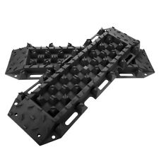 Black 4WD Recovery Tracks 10T Off Road 4x4 ATV Snow Mud Sand Track 10 ton Pair