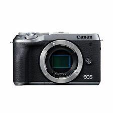 Near Mint! Canon EOS M6 Mark II Body Silver - 1 year warranty