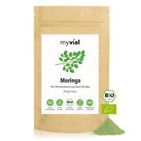 Bio Moringa Pulver 250g | 100% naturrein - Vegan - 100% rein & natürlich - Ohne