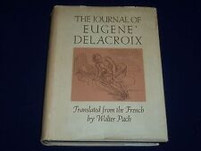 1937 THE JOURNAL OF EUGENE DELACROIX BOOK TRANSLATED BY WALTER PACH - KD 3424