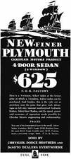 Plymouth 1930 - Plymouth Ad - New Finer Plymouth 4 Door Sedan with Price