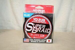 Yo-Zuri SuperBraid Line 50lb 150yd Blue