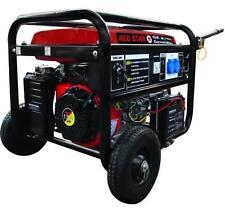 Generatore di corrente 5.0 KW accensione elettronica con ruote MOSA GE-6700 RED