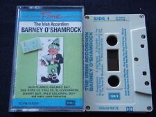 Barney O'Shamrock - The Irish Accordion 1985 Tape Cassette (C23)
