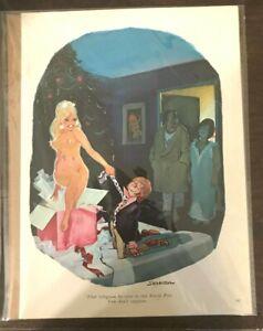 December 1969 Playboy Cartoon