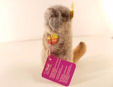 Steiff 2205/12 PIFF marmotte peluche 14 cm longueur neuf