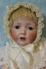 "Antique 16"" German Bisque JDK 237 Hilda Character Baby Doll by Kestner c.1915"