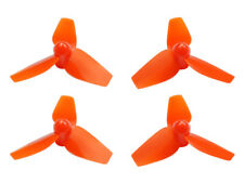Microheli Blade Inductrix FPV + Orange 3-Blade 40mm/1.0mm Prop Set MH-3PP4010OR