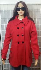 FASHION COAT WOMEN'S SIZE L RED