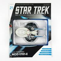 Star Trek Starship Collection USS ENTERPRISE 1701 E Model Eaglemoss Issue 21 NEW