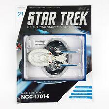 Star Trek Starship Collection USS ENTERPRISE 1701 E Model Eaglemoss Issue 21 NEW