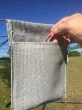 Clothes Peg Bag Grey Large For your washing line pegs or when your camping ect