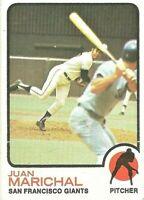 1973 Topps Baseball Set Break #480 Juan Marichal San Francisco Giants HOFer