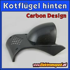 Onderdelen elektrische Scooters Rear mudguard / fender with carbon design