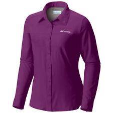 0bd276cc Columbia Sportswear Woman Plus 3x Purple Roll Tab Long Sleeve Omni Sun Shirt