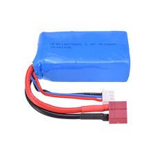 Batería 7.4V 1500mAh Batería Lipo para WLtoys A959-b/A969-b/A979-b/K929-B RC Coche