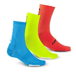 Giro HRC Team Black, Blue, White...GIRO Medium Cycling Socks (1 Pair, Unisex)