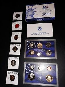 coin LOT collection US MINT SETS PROOF wheat tax token nickel NO JUNK DRAWER