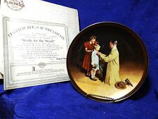 Norman Rockwell's Ready For The World Factory Box Coa