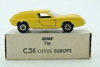 "Lone Star Roadmasters ""Impy"" Flyers Super Cars Lotus Europa - England"