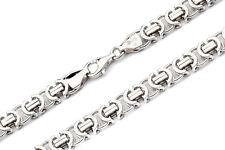 925 Silberkette: Königskette flach Silber 8,5mm 60cm R