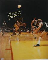 Norm Nixon Signed Autographed 16x20 Photograph Los Angeles Passing Ball PSA/DNA