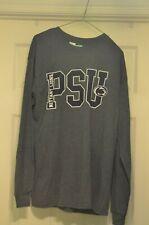 PENN STATE Men's Long Sleeve  Graphic T-Shirt, Gray,GIDEN L