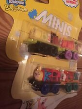 * Weighted & Rare ! SpongeBob * 4 pack from Thailand * Patrick * Thomas Minis *
