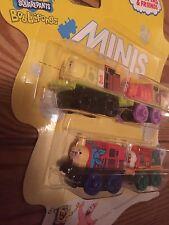 **NEW*&*Rare!*SpongeBob*4 pack!!*Patrick**Mermaid Man*Thomas Minis**