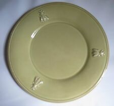 Lot 5 Green Dinner Plates 9 inch / Paris Musees / 3 Bees