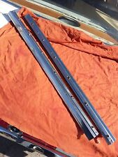 1968-1969 Ford Ranchero Bed Rail Moulding Center Trim Stainless Steel FoMoCo OEM