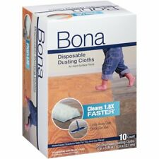 Bona AX0003512 10 Count Dry Dusting Disposable Cloths