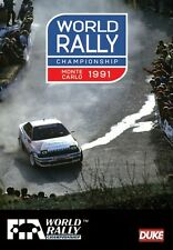 World Rally Championship - Monte Carlo 1991 Review (New DVD) WRC Sainz Biasion