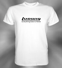 Ludwig Percussion Drums Cymbal Logo T-Shirt Size S M L XL 2XL 3XL