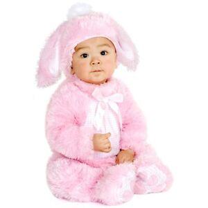 Pink Bunny Costume Baby Rabbit Easter Halloween Fancy Dress
