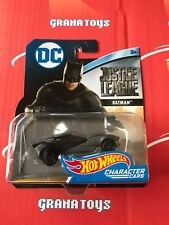 Batman Justice League 2017 Hot Wheels DC Comics Character Cars