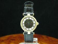 Cartier Tank vermeil 925 plata Dorado/oro abrigo fantastico/ref 590004